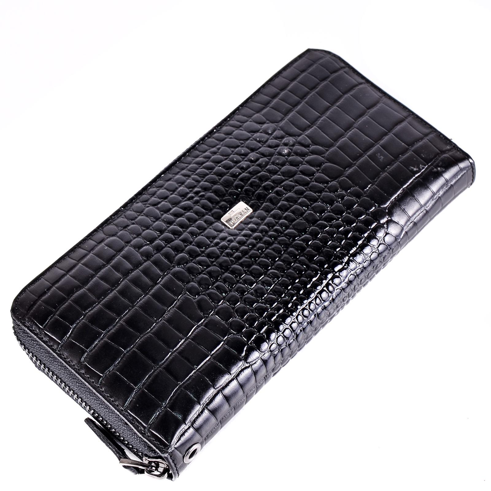 Портмоне Desisan croco Black
