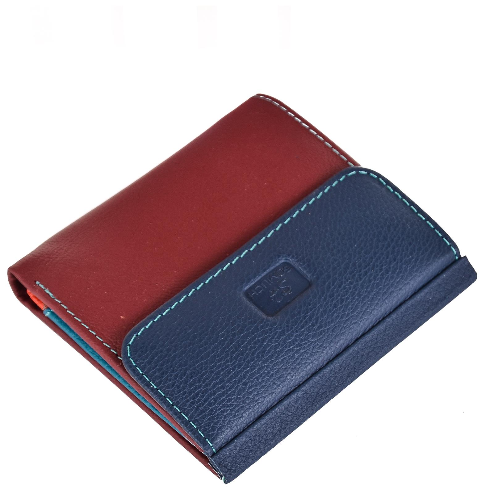 Портмоне Somuch D.Blue/Date Red